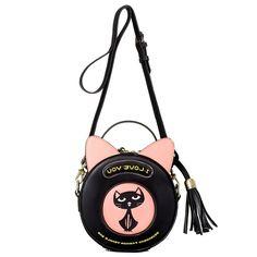 31.87$  Watch now - https://alitems.com/g/1e8d114494b01f4c715516525dc3e8/?i=5&ulp=https%3A%2F%2Fwww.aliexpress.com%2Fitem%2FNorth-bag-ladies-Satchel-Bag-casual-tassel-small-cute-kitten-bangalor-bun-portable-spring-tide%2F32669527800.html - Women Brand Circular Cute Lovely Shoulder Messenger Bag Ladies Casual Tassel Small Cute Satchel Kitten Bangalor Portable Handbag 31.87$