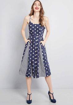 928d161d7596 A look starring this cotton dress earns itself plenty of praise. Modcloth  Celebrated Style Fit