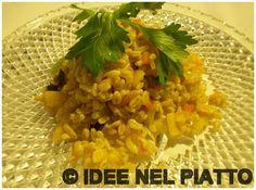 KAMUT CON VERDURE!  http://blog.giallozafferano.it/ideenelpiatto/kamut-con-verdure/