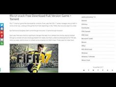 FIFA 17 Crack PC game free download for Windows