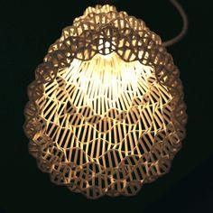 3D print, lampshade, lighting 3D printing service - http://www.sunruy.com/