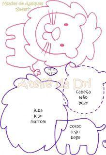 Resultado de imagen para hipopótamo baby em eva