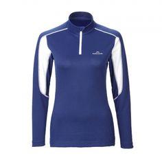 ThermaPLUS 1/4 Zip Long Sleeve Top Women - Nautic White Trekking, Long Sleeve Tops, Athletic, Zip, Sleeves, Jackets, Women, Fashion, Down Jackets