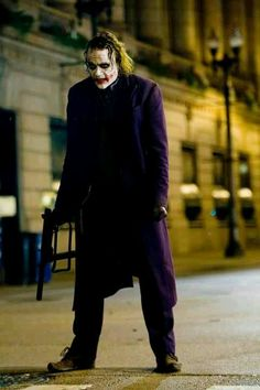 Heath Ledger. Joker. Dark Knight