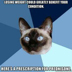 Hate prednisone!
