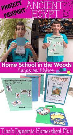 Passport Project Ancient Egypt @ Tina's Dynamic Homeschool Plus