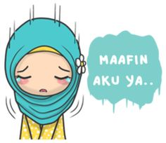 Flower Hijab : Daily Talk - LINE Creators' Stickers