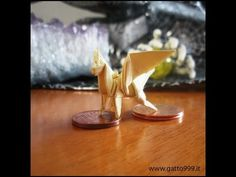 Tutorial and instructions Origami Mini Winged Horse by Gatto999.it - YouTube