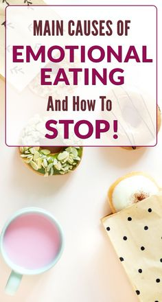 Main causes of emotional eating and how to stop! Find out why you are doing it and if you are an emotional eater see what else you can do to feed your feelengs. #EmotionalEatersTips #FoodTips Food Tips, Food Hacks, Dealing With Stress, Food Cravings, Food Preparation, Eat, Healthy, Food Stamps, Health