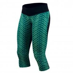 These comfy Pearl Izumi Flash ¾ Tight Print capris have the wide waistband so the elastic doesn't create a muffin-top look. I also love the bold pattern. They are super light. — Fara Rosenzweig, contributing writer