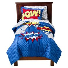 Comic Book comforter Full size for the boy's room. Online only at Target