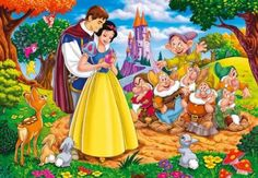 Snow White and the Seven Dwarfs (35 pieces)