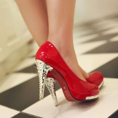 I have a thing for the ruby slippers from the Wizard of Oz, I wore ruby red shoes to prom and I will wear them on my wedding day.