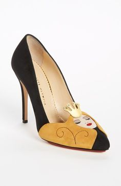 Charlotte Olympia Pump available at #Nordstrom This cost a grand and people are starving, crazy.