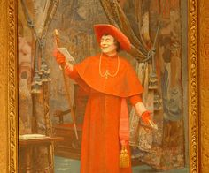 Cardinal-Reading-A-Letter-Jean-Georges-Vibert.