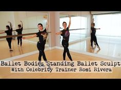 Ballet Bodies Standing Ballet Sculpt With Christine Bullock and Celebrity Trainer Romi Rivera Leg Day Workouts, Fit Board Workouts, Mom Workout, Barre Workouts, Wellness Fitness, Fitness Tips, Fitness Motivation, Christine Bullock, Ballet Barre Workout