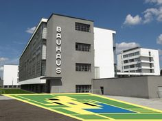 Bauhaus was a revolutionary school of art, architecture and design established by the pioneer modern architect Walter Gropius at Weimar in Germany in includes artists Paul Klee and Wassily Kandinsky Walter Gropius, Architecture Cool, Classical Architecture, Foster Architecture, Landscape Architecture, Piet Mondrian, Photo D'architecture, Photo Art, Bauhaus Building