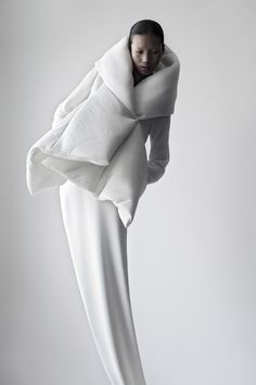 QIU HAO | FW 2011 Women by Matthieu Belin, via Behance