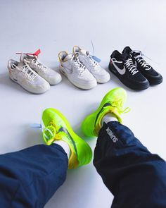 bf1bf2e08aa6 Off-White x Nike · Collection goals 🔥 📷 by  kickstq  airforce1  complex   fashionblog  grailify