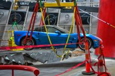 Motor'n News: Out of Sinkhole, ZR-1 'Blue Devil' Drives in Museum