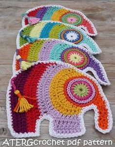 Häkeln Sie Pdf Muster Elefant von ATERGcrochet