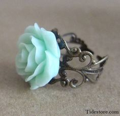 Beautiful ring #flower #ring #fashion #love