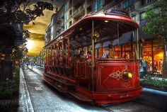 glendale ca- Trolley at the Americana Hdr Photography, Artistic Photography, Make Photo, Photo Look, Fotografia Hdr, Time Travel, Places To Travel, Glendale California, Bonde