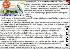 Dr.Cevdet Tuna Çayağacı Kremi...