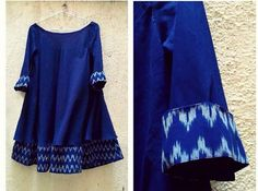 This deep blue tunic is must have !!!