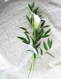 Wedding Bouquet Israeli Ruscus