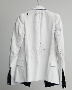 Painted Blazer by Maison Martin Margiela, 2009