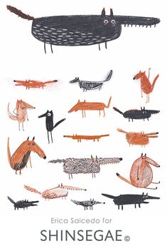 Shinsegae Departement Store Image - Erica Salcedo Illustration potfolio