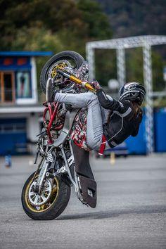Lady Biker, Biker Girl, Stunt Bike, Class 8, Motorcycle Girls, Street Bikes, Stunts, Bikers, Balls