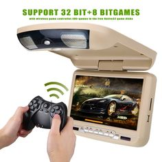 90.00$  Watch here - http://ali5ht.shopchina.info/1/go.php?t=32811396786 - 9 inch Roof Mount Car DVD Player with USB SD MP5 IR FM Transmitter,Wireless games  #aliexpresschina