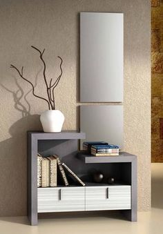 modern console table design ideas with mirror 2019 Hall Furniture, Home Decor Furniture, Furniture Design, Bedroom Dressing Table, Dressing Table Design, Console Design, Modern Console Tables, Foyer Decorating, Home Interior Design