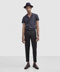 Cuban Collar Shirt Outfit Inspiration
