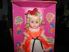 "Jolly`s Good Girl Doll NIB with Box 17"" Tall 1970s"