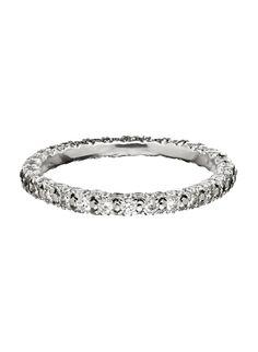 Three Row Eternity Ring