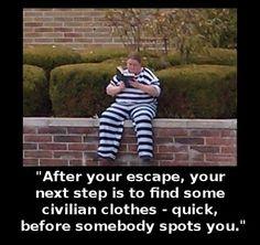 """""""Prison Breaks For Dummies"""""""