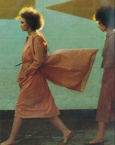 Photo by Gianbarberis for Vogue Italia, 1975. love the hairs!