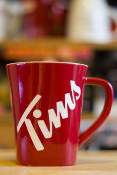 Tim Hortons Mug #013 Canada Eh, Tim Hortons, True North, I Love Coffee, Good Old, Teacups, Utensils, Photo Booth, Alaska