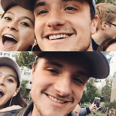 May, 10th || Josh Hutcherson at the East Los Angeles College to support Bernie Sanders.