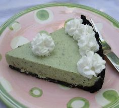 From Kirsten's Kitchen to Yours: Grasshopper Pie - Vegan