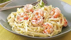Creamy Shrimp Pasta | Food Recipes