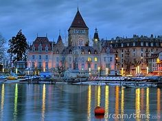 Lausanne, Switzerland.  Need to visit my middle name one day! <3