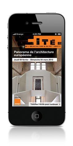 Appli mobile - Cité de l'Architecture on Behance