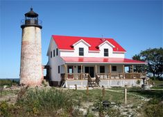 Charity Island Lighthouse, Michigan at Lighthousefriends.com