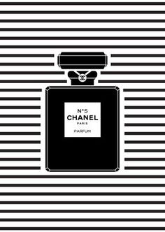 Chanel perfume bottle on black and white background Chanel N 5, Perfume Chanel, Chanel Paris, Chanel Fashion, Channel Perfume, Chanel Wallpapers, Pretty Wallpapers, Chanel Poster, Poster Series