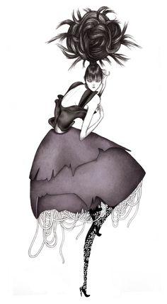 Laura Laine – fashion illustrator