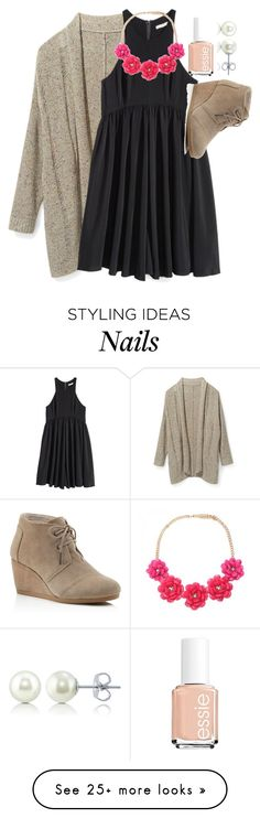 """contest results (a little late)"" by elizabethannee on Polyvore featuring mode, Rebecca Minkoff, H&M, TOMS, Essie, BERRICLE et fallbucketlistforeliz"